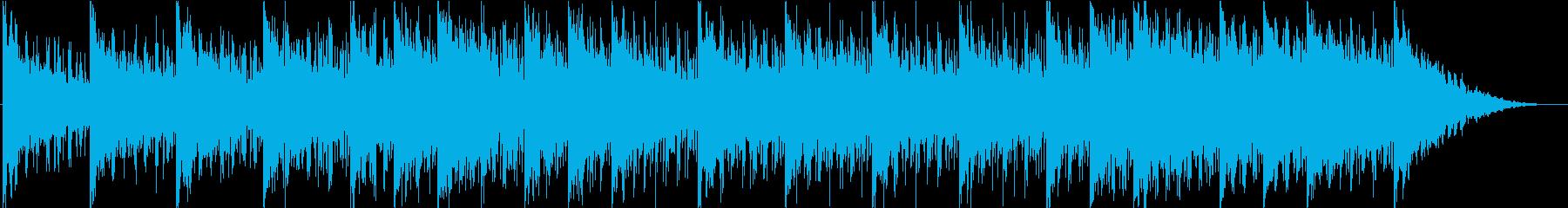 アンビエント、背景の再生済みの波形