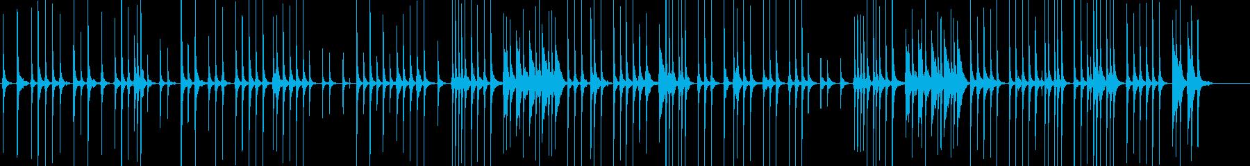 三味線83鷺娘15袖傘や生音歌舞伎妖怪鷺の再生済みの波形