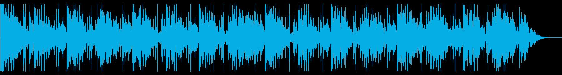 海/生演奏/R&B_No607_5の再生済みの波形
