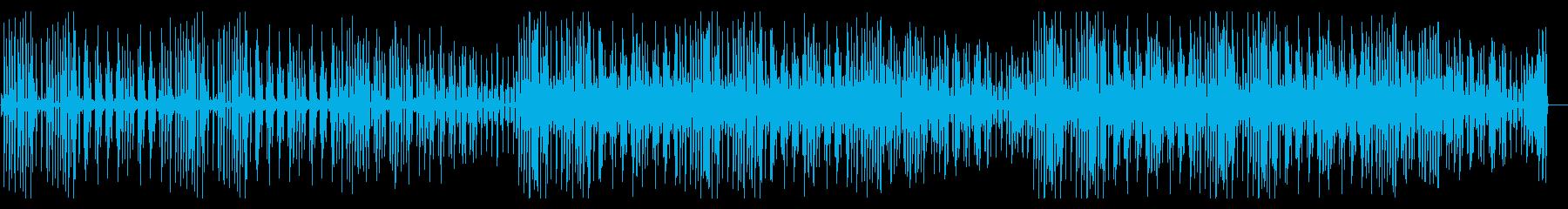 YouTube ピアノ・コミカル・料理の再生済みの波形