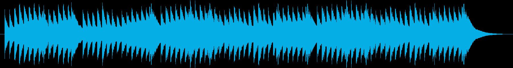 喜びのうたのオルゴールの再生済みの波形