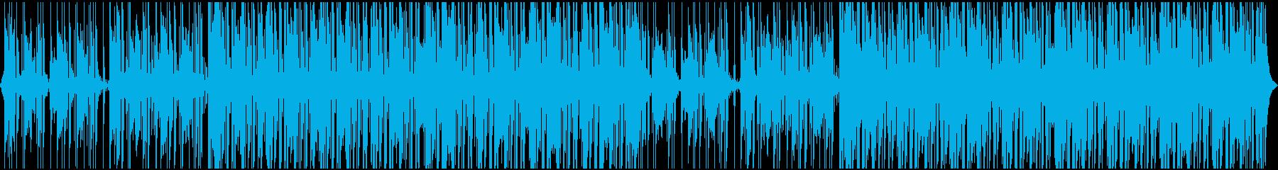 気分を高揚させるファンクミュージックの再生済みの波形