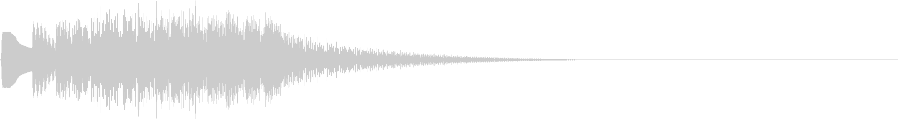 TVFX 成功 完成 目標達成 SE 4の未再生の波形