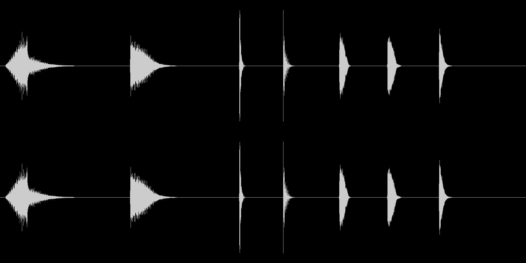 エスパシオ、エナジーアザップザップの未再生の波形