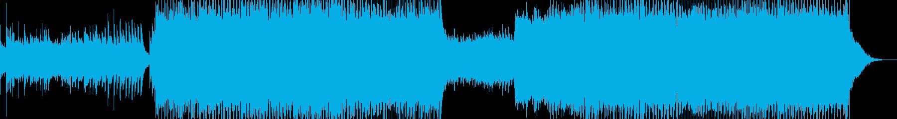 爽快なサマーソング・ピアノ・海の思い出の再生済みの波形