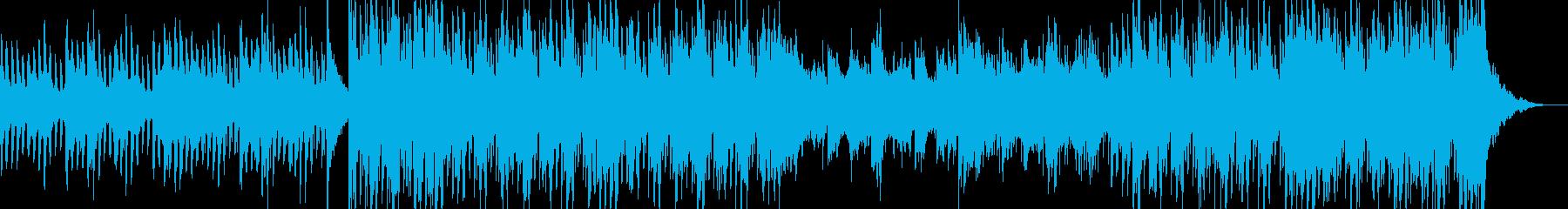 ピアノCM映像用の曲企業VP優しい爽やかの再生済みの波形