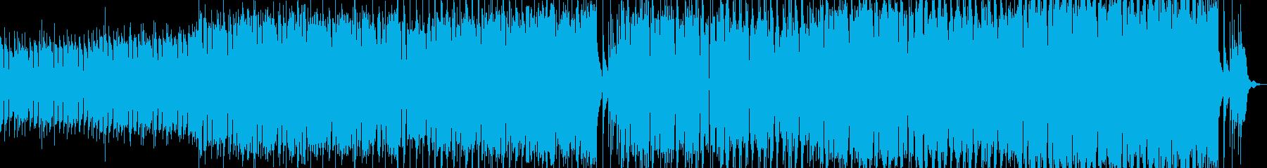 【アニメ】悪と闘うバトルシーンの再生済みの波形