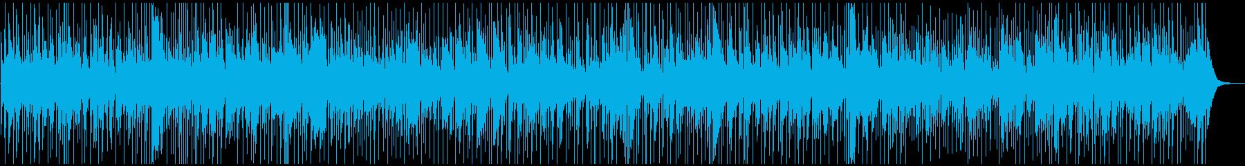 陽だまりのとき:ほのぼのとしたBGMの再生済みの波形