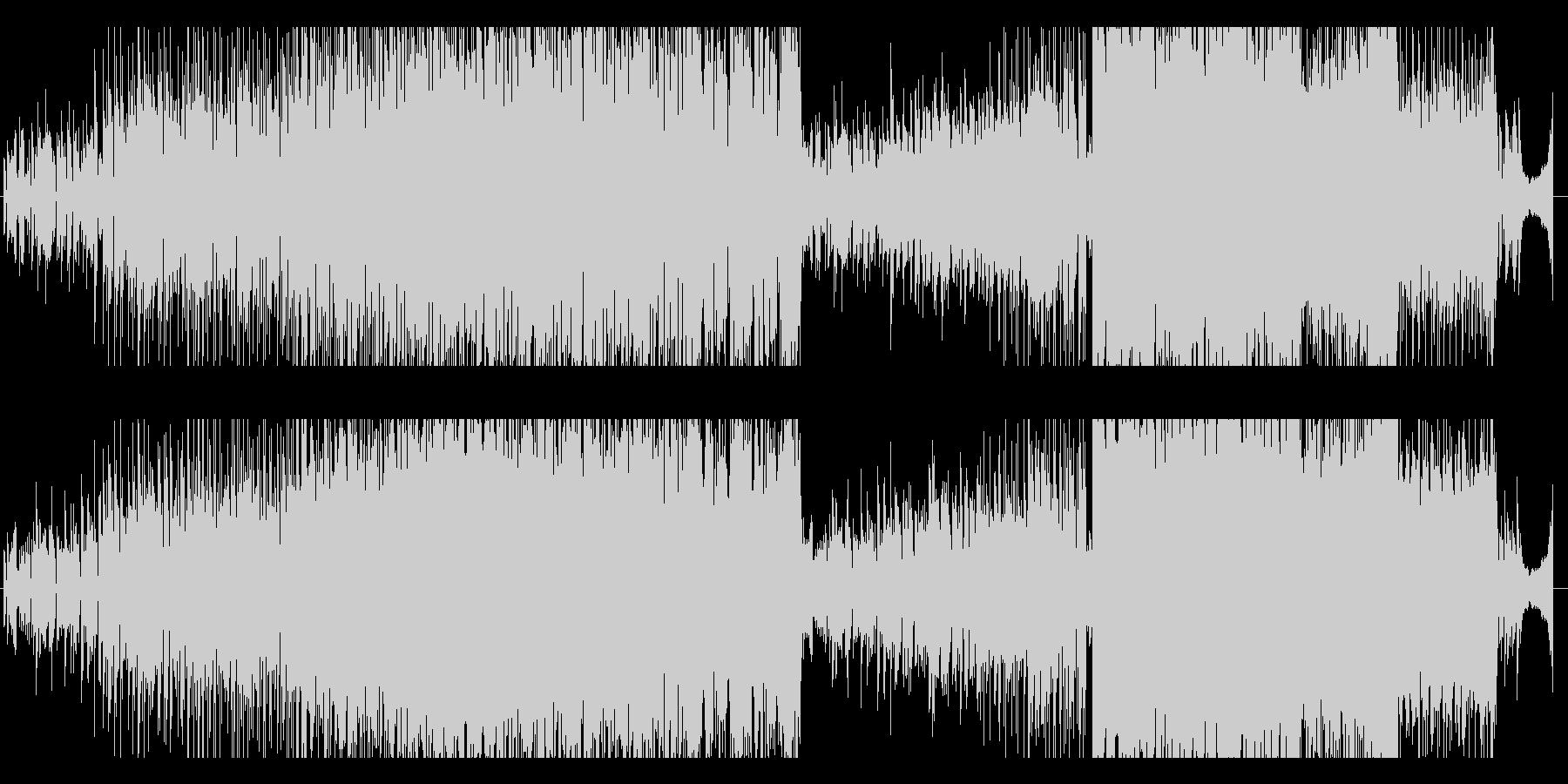 ポップで明るく可愛いフューチャーベース曲の未再生の波形