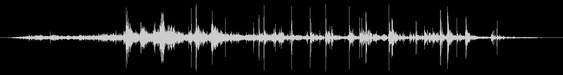 スモールロックス:タンブルダウンヒルの未再生の波形