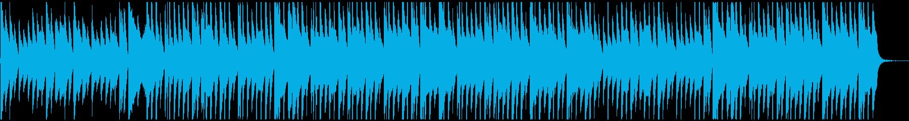 エモいBGMの再生済みの波形
