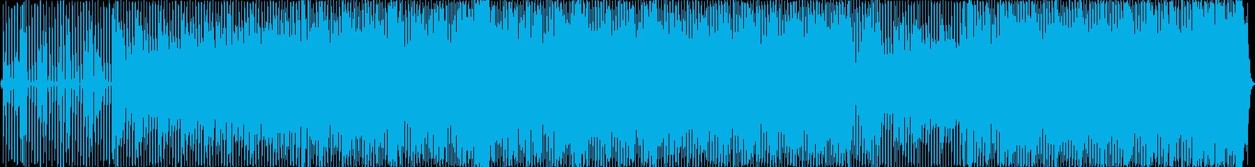 繰り返し、滑らか、のんき、リラック...の再生済みの波形