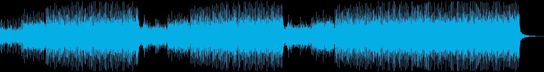 尺八/篠笛/琴などのかっこいい和風EDMの再生済みの波形