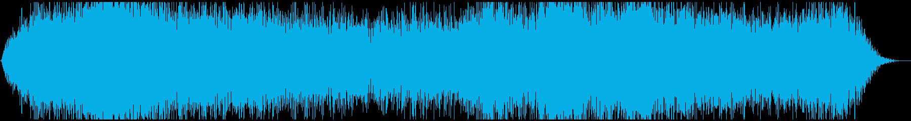 ドローン バブリング01の再生済みの波形