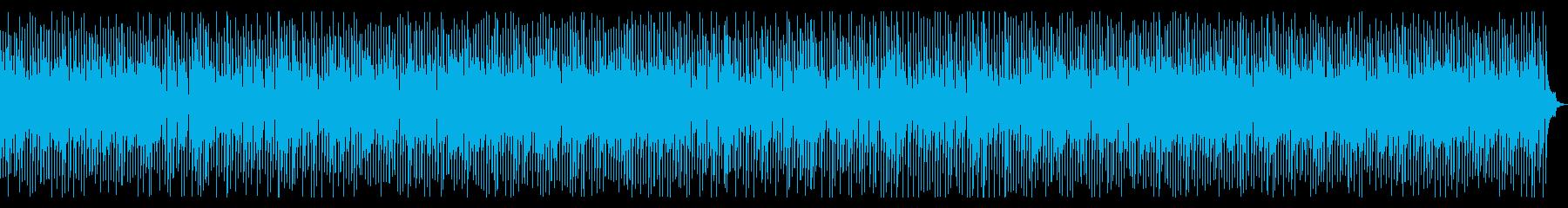 オシャレなカフェのようなジプシージャズの再生済みの波形