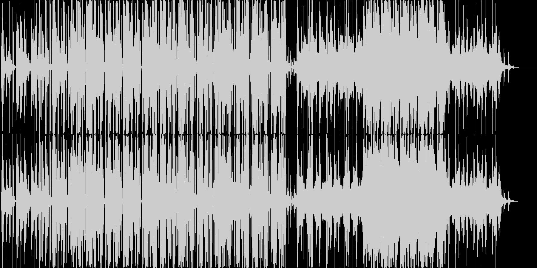 おしゃれでノリノリなエレクトロポップですの未再生の波形