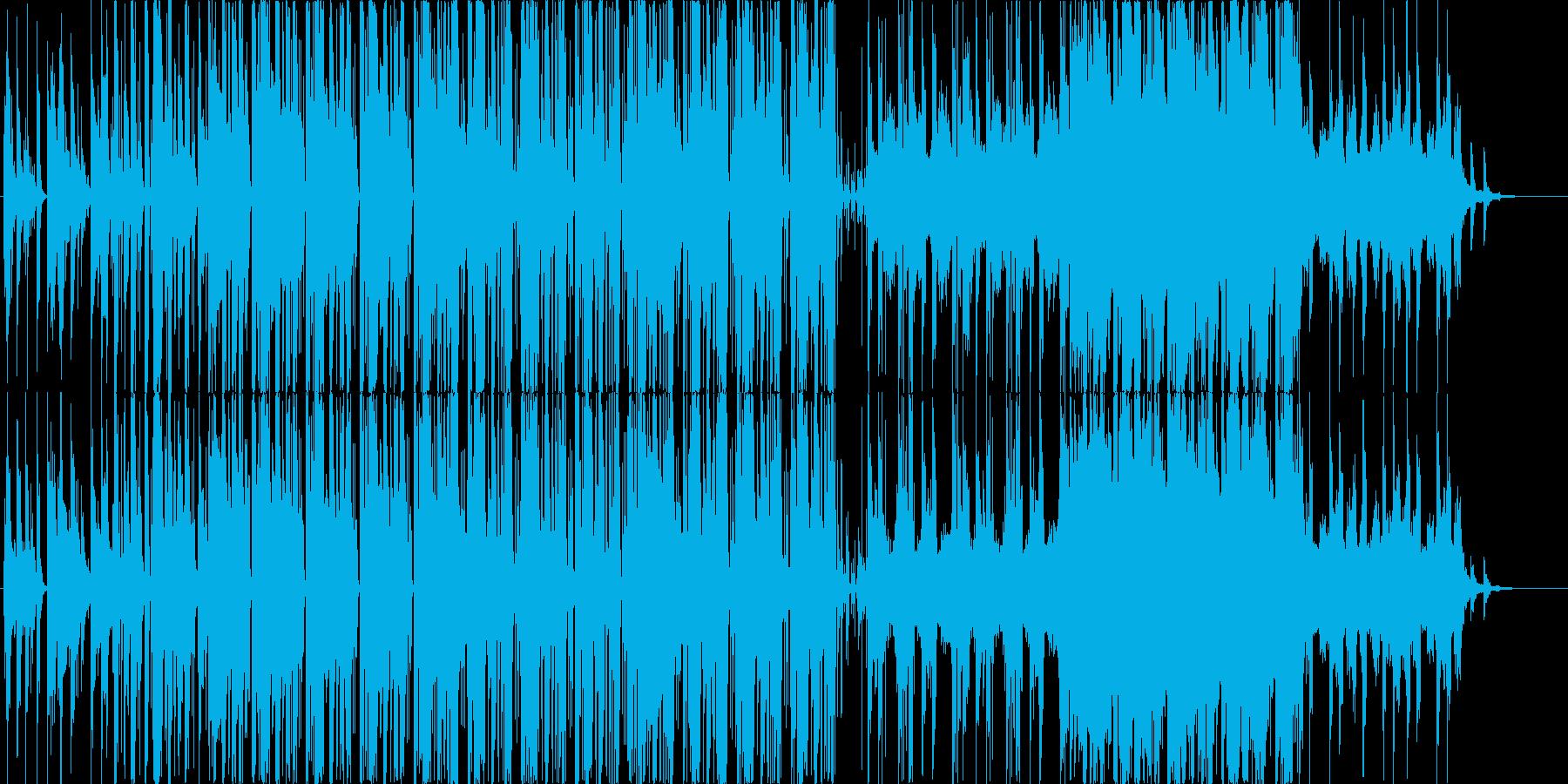 おしゃれでノリノリなエレクトロポップですの再生済みの波形
