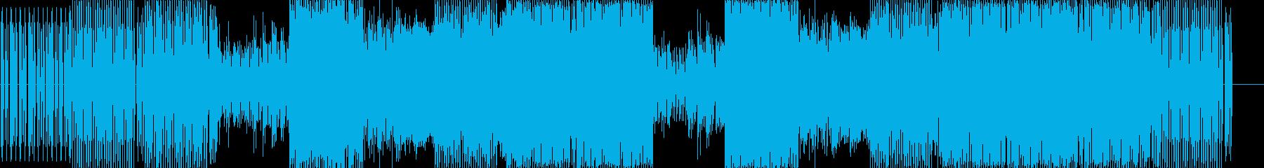 シンセメロディの再生済みの波形