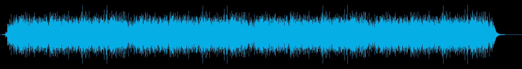 木琴と水のせせらぎのミニマルの再生済みの波形