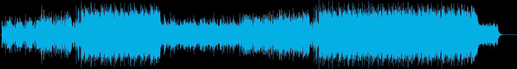 洋楽 Future Pop お洒落 CMの再生済みの波形