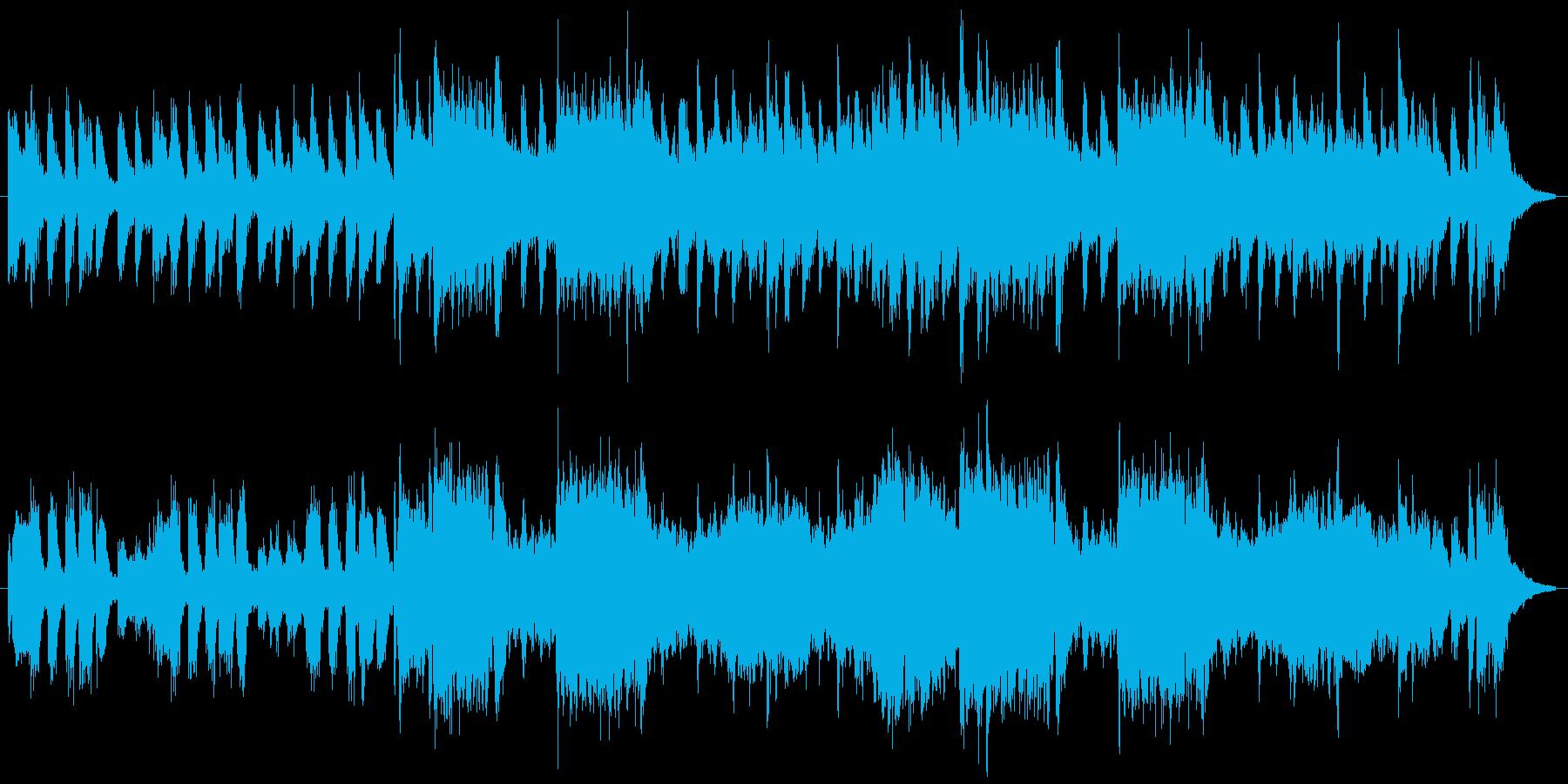 少しオシャレでレトロなジャズの再生済みの波形