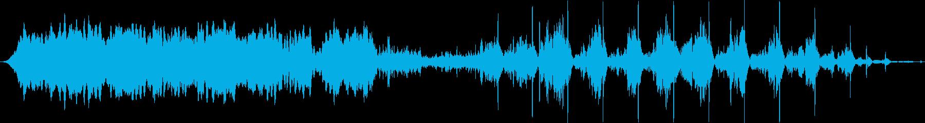 スキャナーの回転バズチューニングか...の再生済みの波形