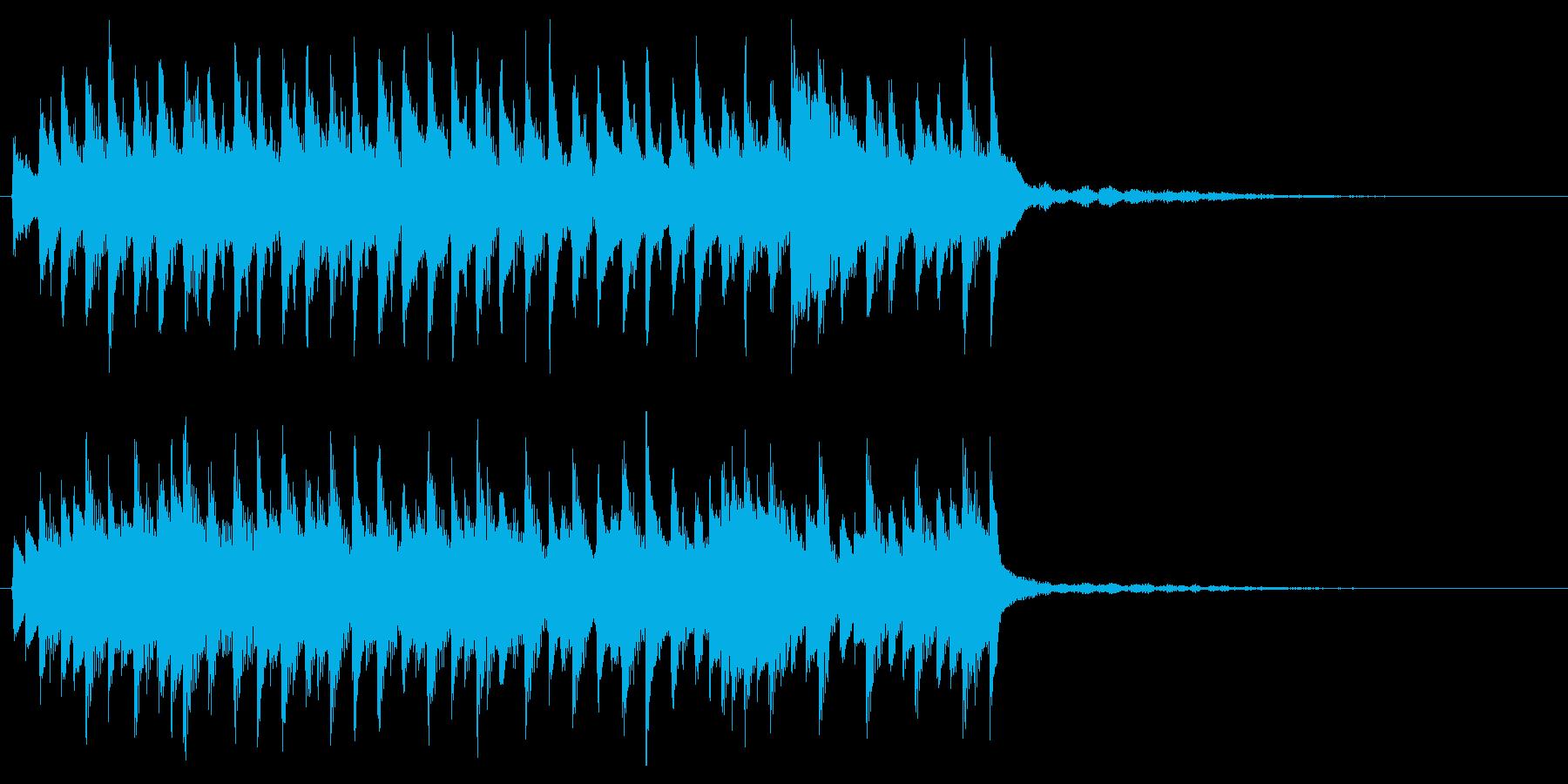 ピアノジングル 感動的癒し爽やかしっとりの再生済みの波形