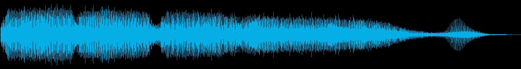 残念 失敗 トランペット フレーズの再生済みの波形
