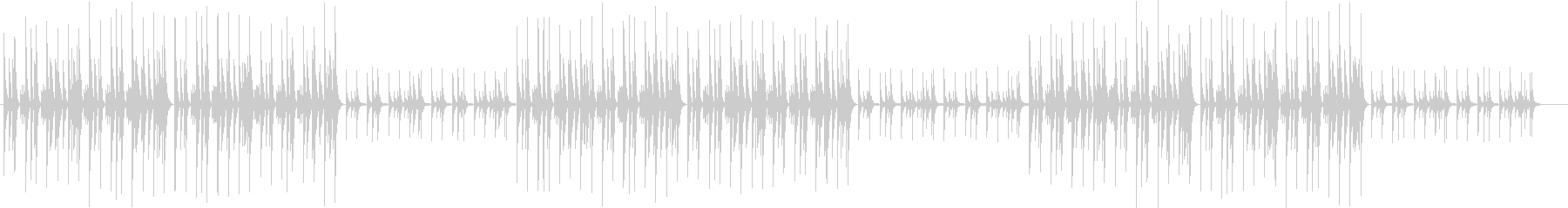 野球ゲーム応援歌 チープなチップチューンの未再生の波形