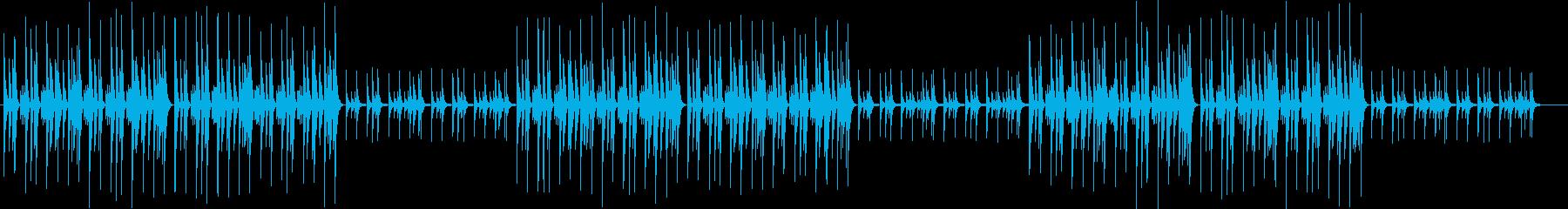 野球ゲーム応援歌 チープなチップチューンの再生済みの波形