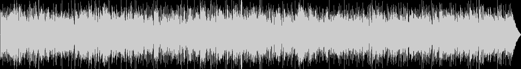 フュージョンジャズ、おしゃれなエレピ中心の未再生の波形