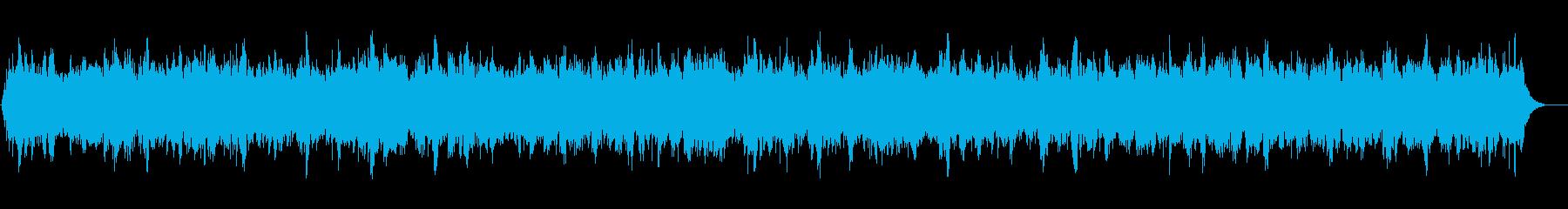 癒しトランス系ヒーリングBGMの再生済みの波形