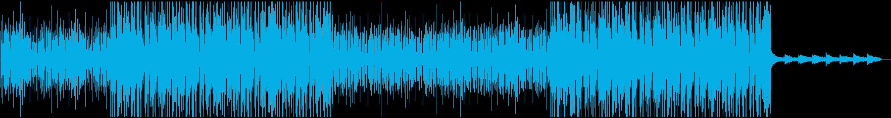 [ローファイ]カフェで流れていそうな曲の再生済みの波形