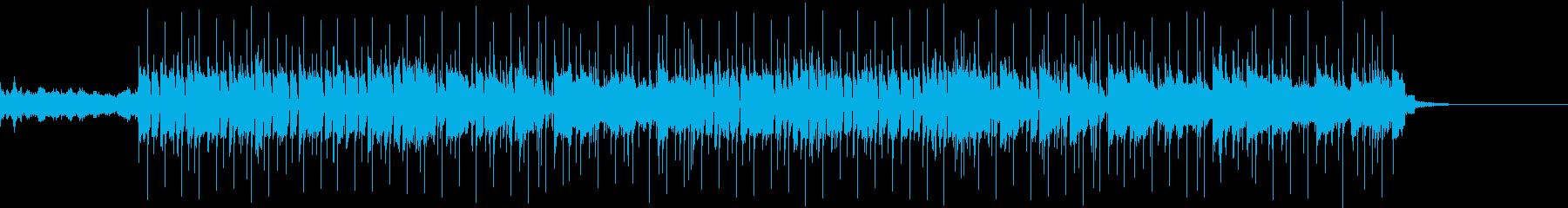 ヴァイオリンでメロディの再生済みの波形