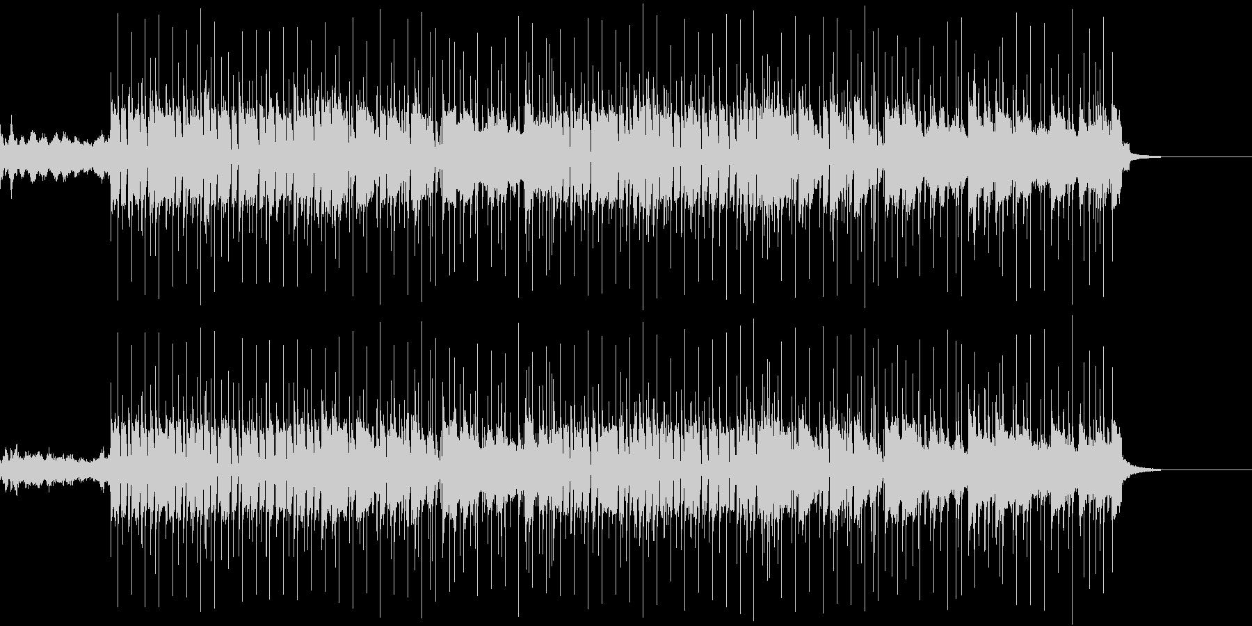 ヴァイオリンでメロディの未再生の波形