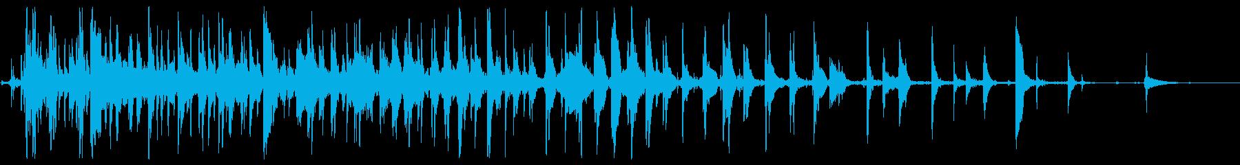 ラティリーメタルディスクスピン、フォリーの再生済みの波形