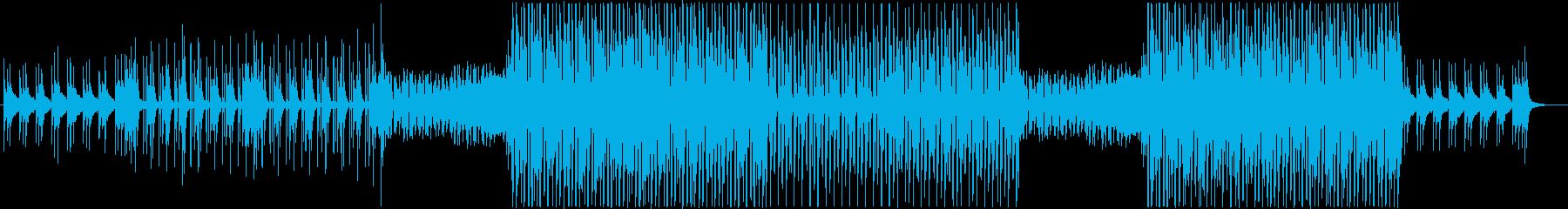 K-POP、洋楽クールEDMポップス♪の再生済みの波形