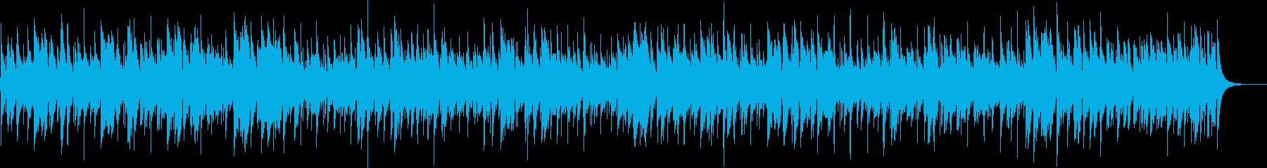 秋の訪れを感じるマンドリンの音色の再生済みの波形