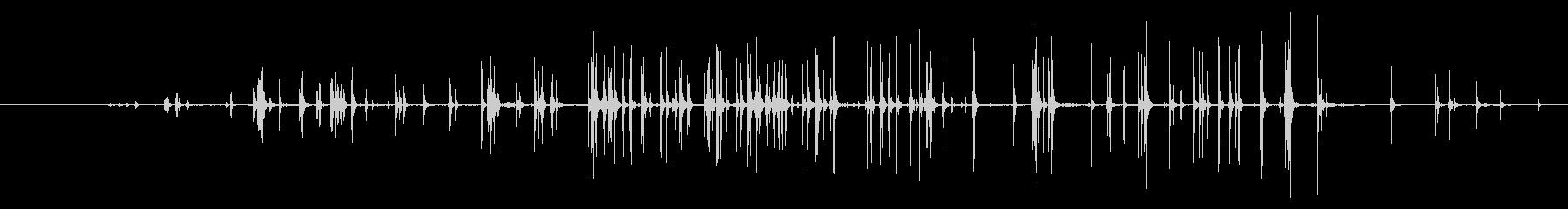 スモールベルクロストリップ:スロー...の未再生の波形