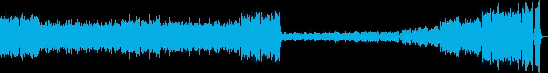 賑やかで楽しい場所に合う楽曲の再生済みの波形