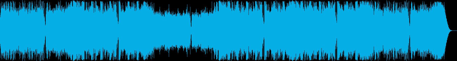 おしゃれなフューチャーベースの再生済みの波形