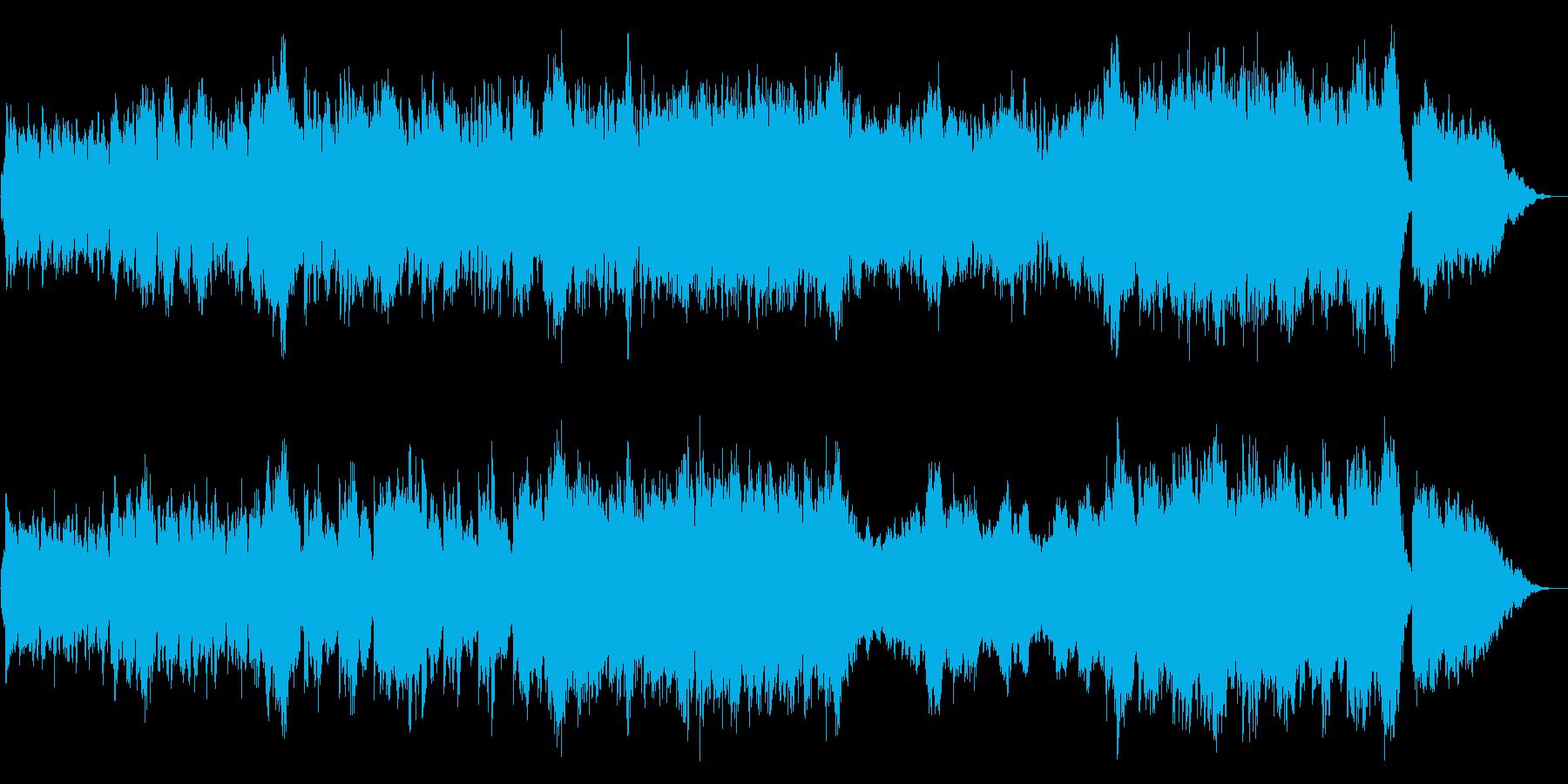 壮大なオープニングオーケストラの再生済みの波形