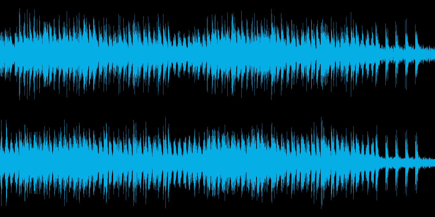 ループ 癒やしのピアノ 快眠 ヒーリングの再生済みの波形