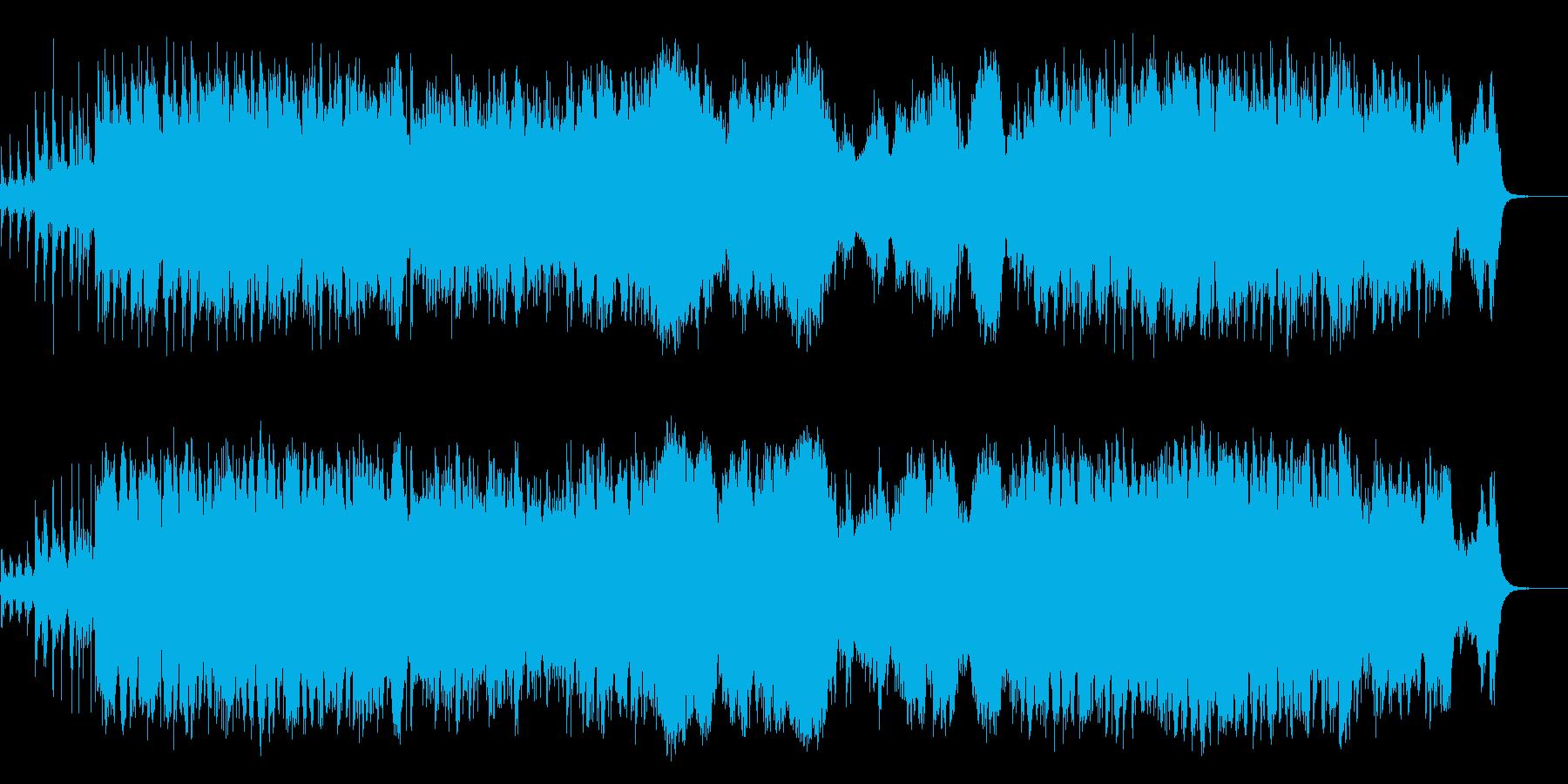 大河ドラマ系和風オーケストラ楽曲の再生済みの波形