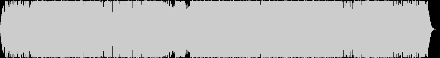 ヘビーメタルなゲーム戦闘BGMの未再生の波形