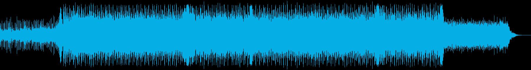 企業VP系、爽やか4つ打ちギターポップの再生済みの波形