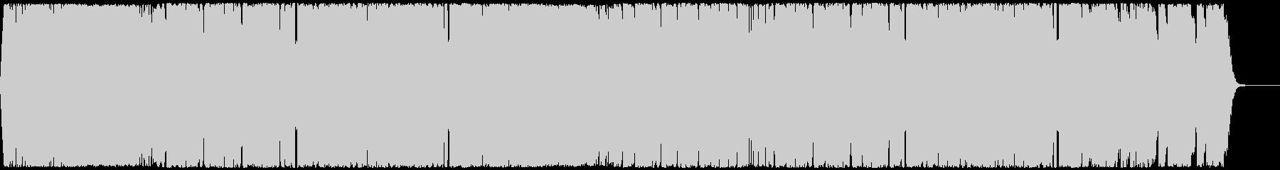 ポップで軽快なEDMハウス CM・映像の未再生の波形
