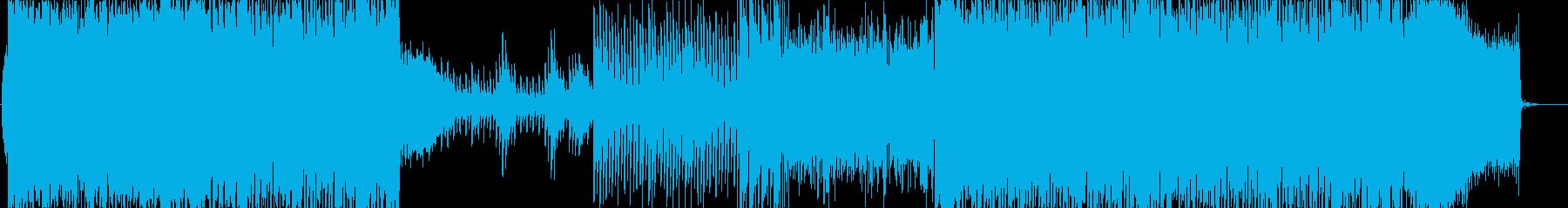楽しくなるような明るく前向きなBGMの再生済みの波形
