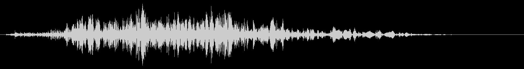 スライムなどが蠢く音 タイプB#5の未再生の波形