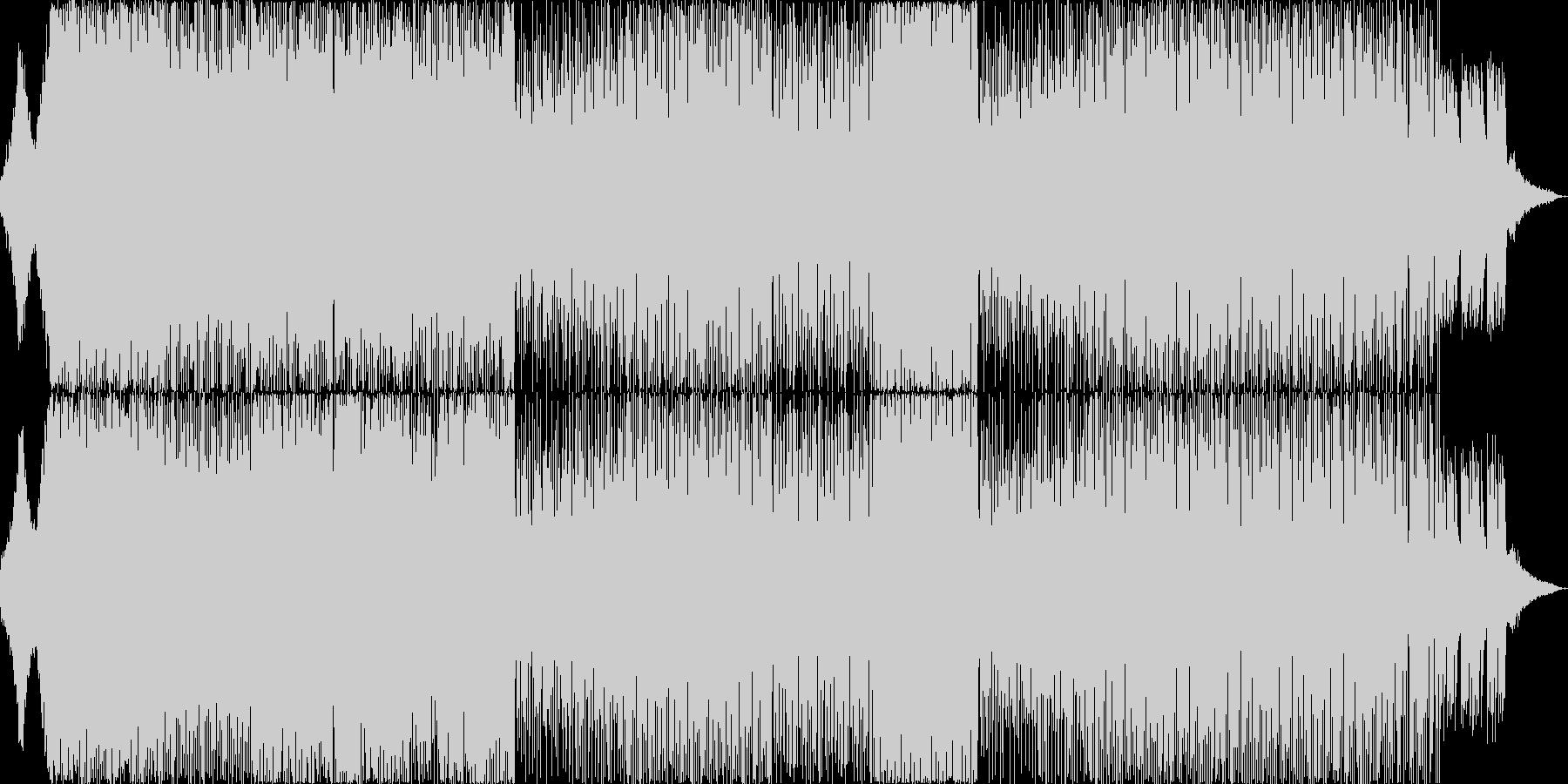 EDM テクノ ネオン クラブサウンドの未再生の波形